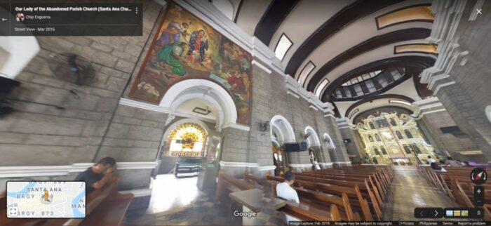 Our Lady of the Abandoned Parish, Sta. Ana, Manila