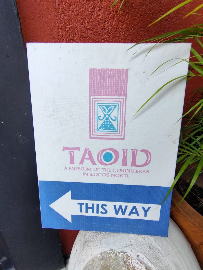 Taoid - A Museum of the Cordilleras in Ilocos Norte