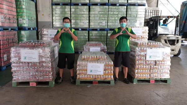 Yeo's Delivers Nutrition Drinks to Support the Singapore Community