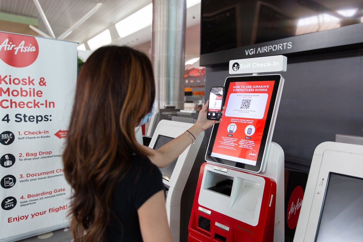 AirAsia enhances digital self check-in as part of safety procedures prior to resumption of flights
