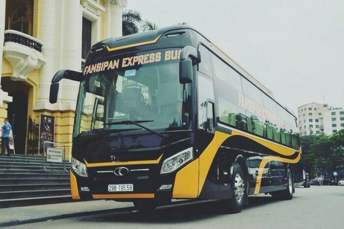 Bus to Sapa from Hanoi photo via Bookaway