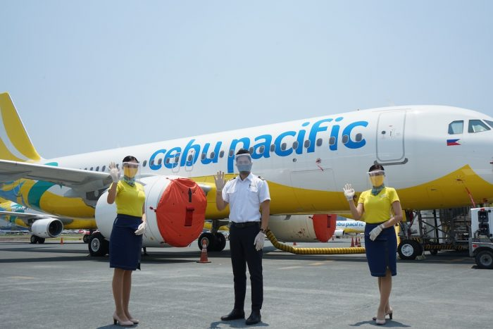 Cabin Crew in PPE - Cebu Pacific Rules for New Normal