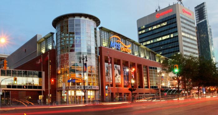 Canada Life Centre in 2010 as MTS Centre