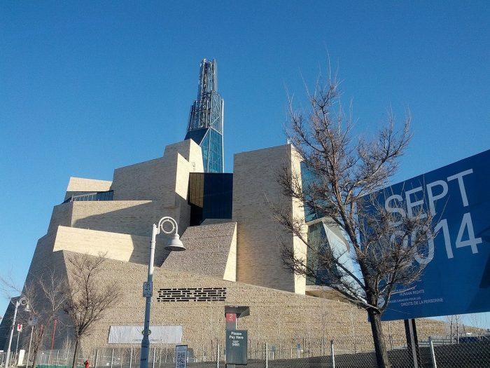 Canadian Museum for Human Rights by Ccyyrree via Wikipedia CC