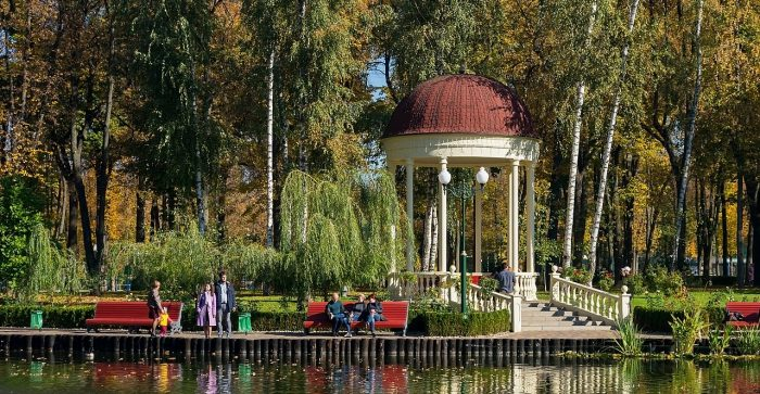 Gorky park is one of the main family attraction in Kharkiv photo by Lystopad via Wikipedia CC