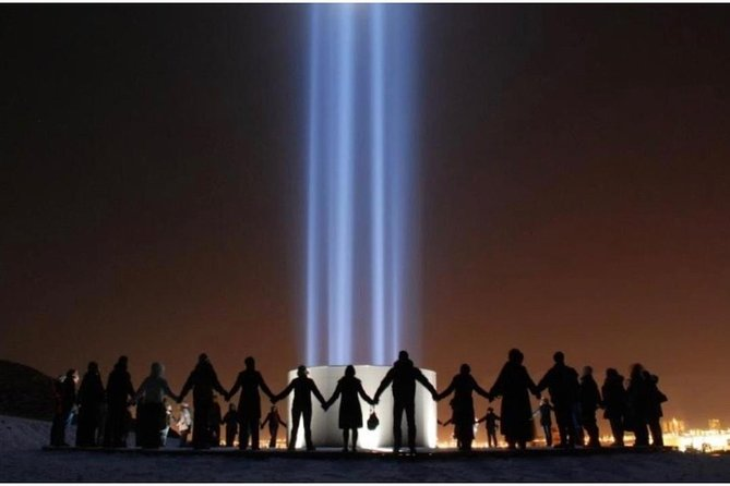 Imagine Peace Tower in Iceland