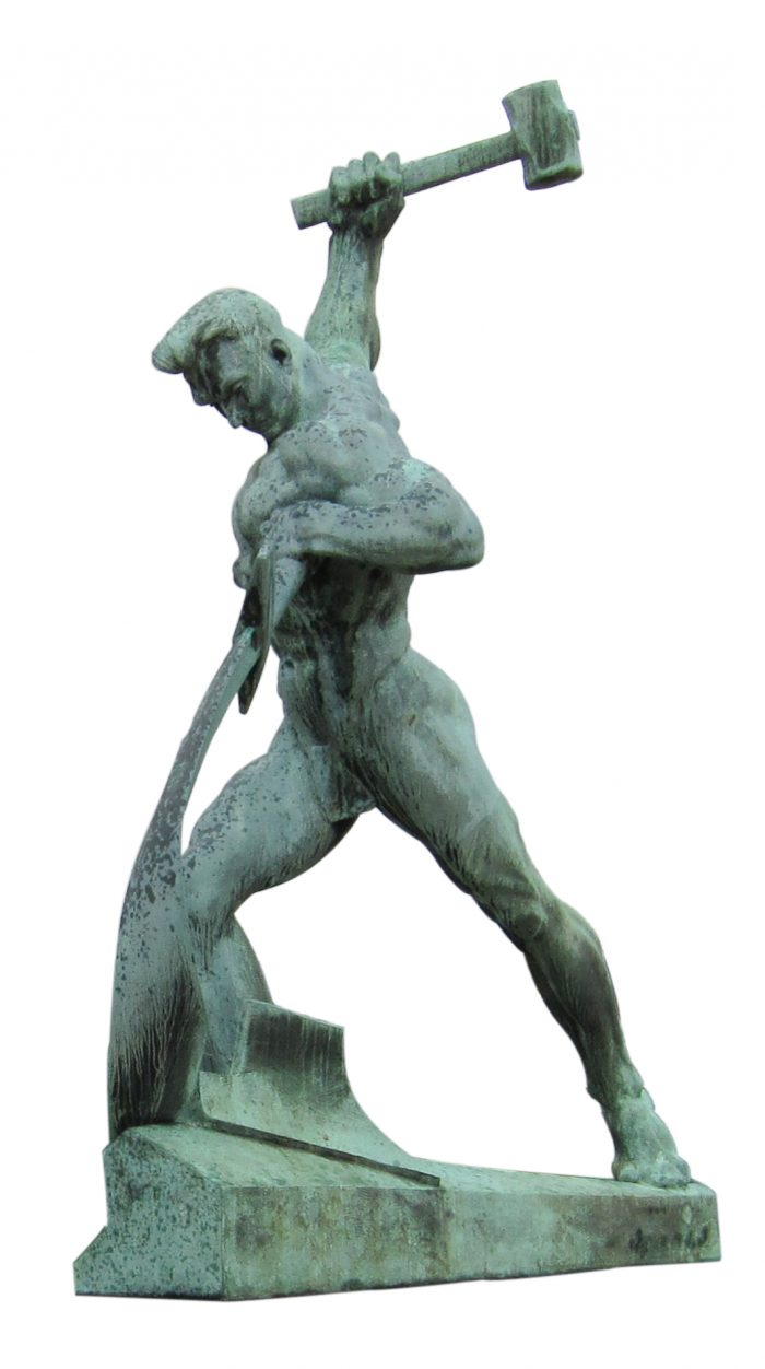 Let Us Beat Swords into Plowshares by Neptuul via Wikipedia CC