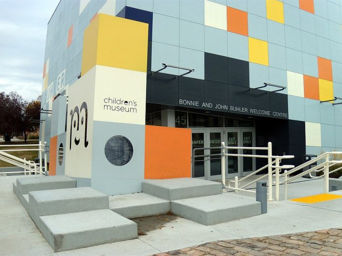 Manitoba Children's Museum by Ccyyrree via Wikipedia CC