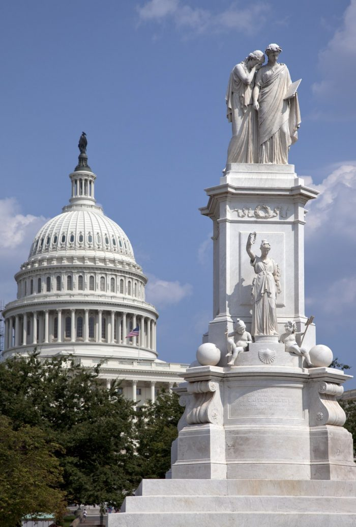 Peace Monument in Washington DC