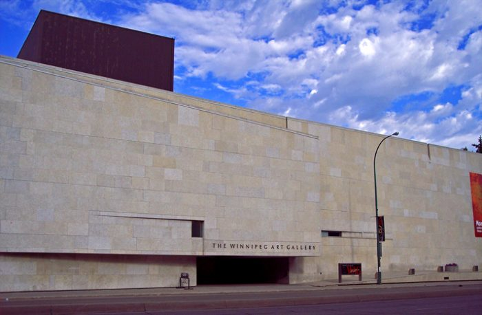Winnipeg Art Gallery by Cayla via Wikipedia CC