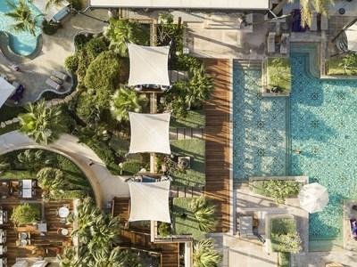 Jumeirah Al Naseem Adults Pool Aerial Drone