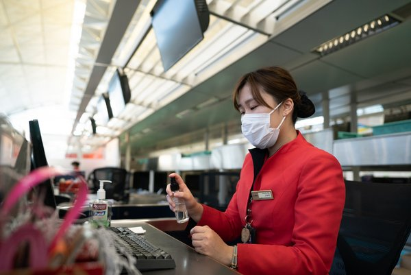 Hong Kong Airlines staff