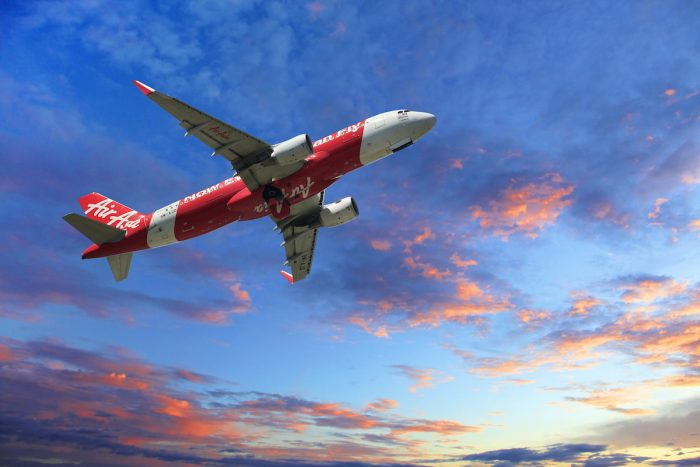AirAsia Expert Advice on Flying During COVID-19 photo via Depositphotos.com