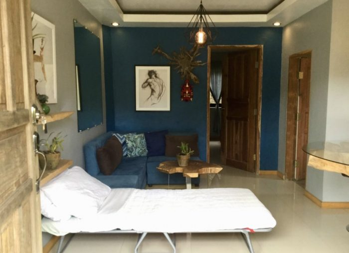 Airbnb in Baguio with Mountain View