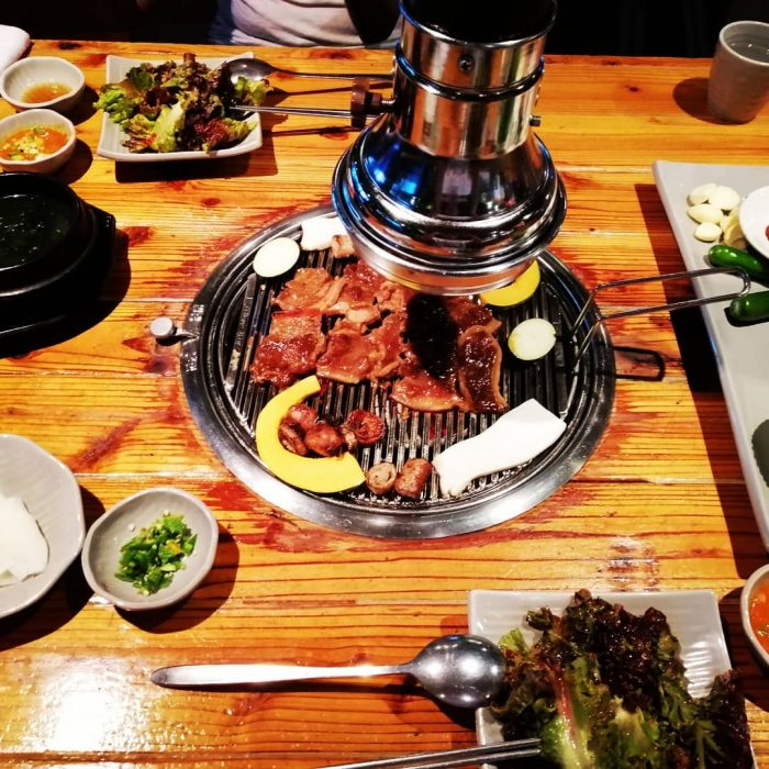 Anga Korean barbecue restaurant