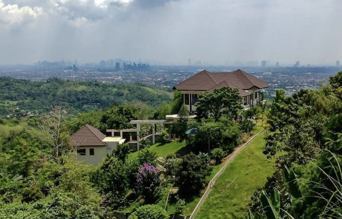 Antipolo Airbnb in a quiet rural setting with magnificent city views
