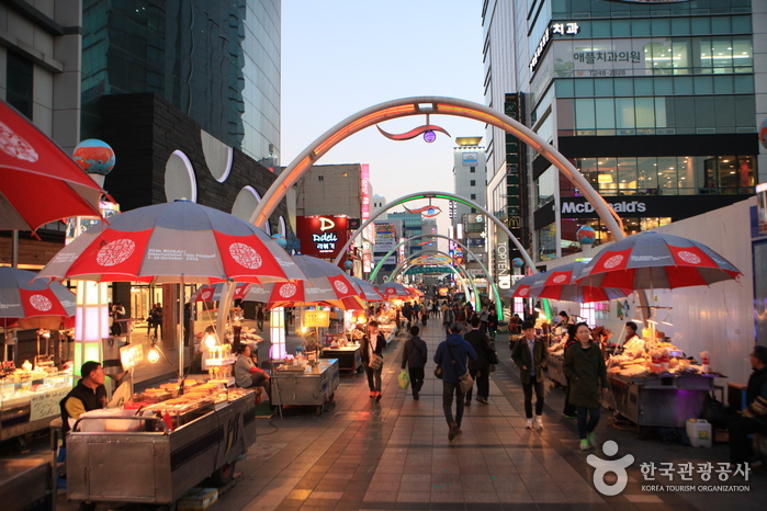 BIFF Square photo via Korea Tourism