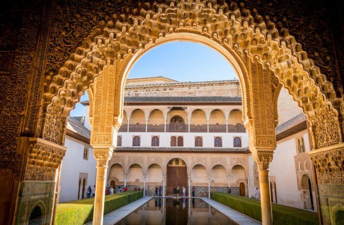 Beautiful Palace in Granada Spain by Austin Gardner via Unsplash