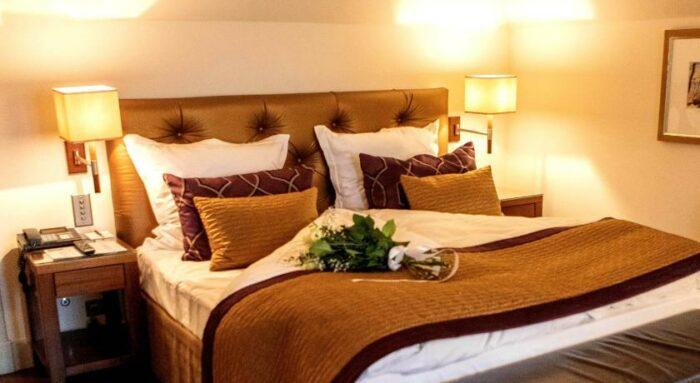 Bedroom at Hotel Sullberg Karlheinz Hauser