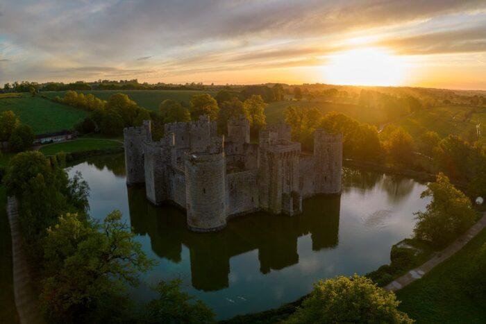 Bodiam Castle UK by Jack B via Unsplash
