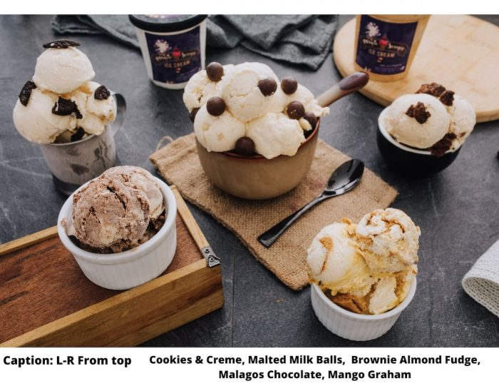Magic Spoops available Ice Cream Flavors