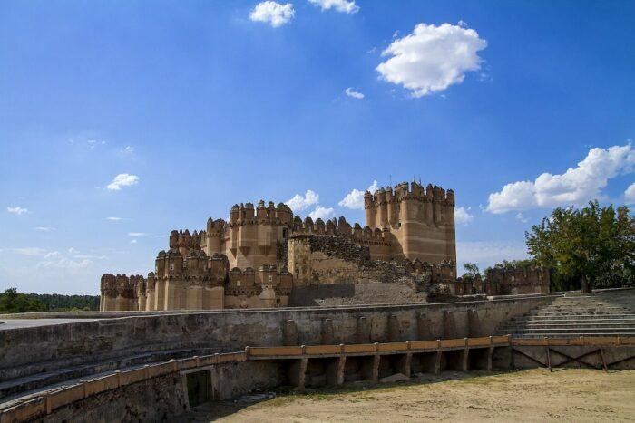 Castillo de Coca by Chefocom via Wikipedia CC