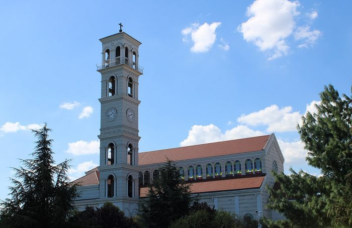 Cathedral of Saint Mother Teresa, Pristina by Arianit via Wikipedia CC