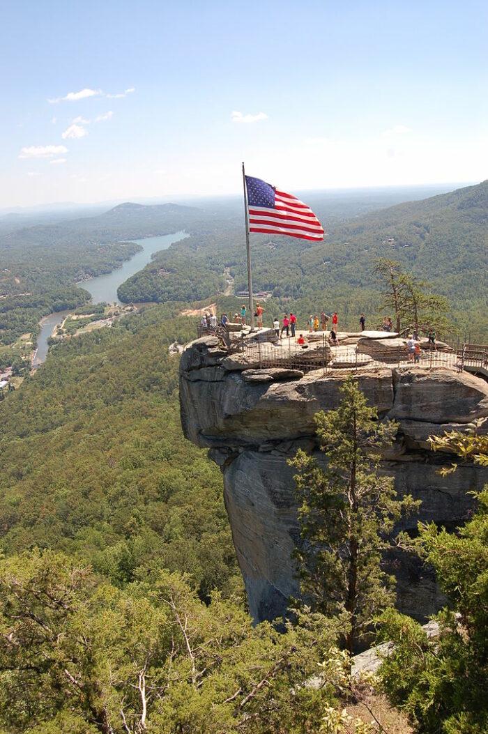 Chimney Rock State Park by Jmturner via Wikipedia CC