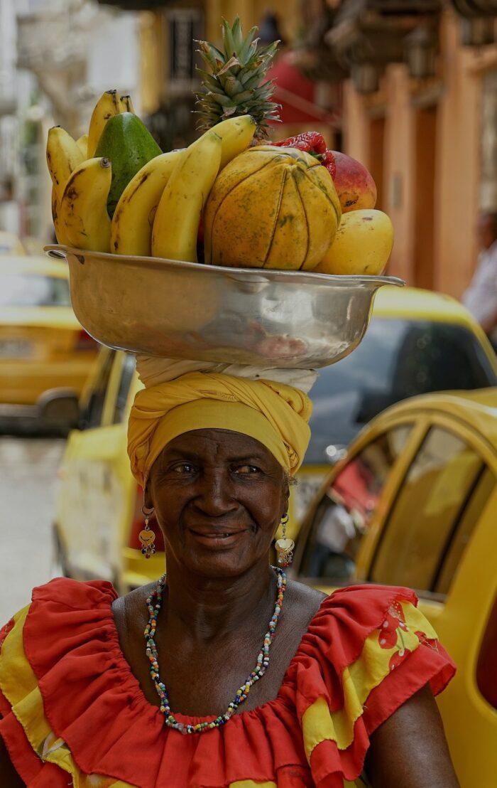 Colombian Lady in Cartagena by Ricardo Gomez Angel via Unsplash