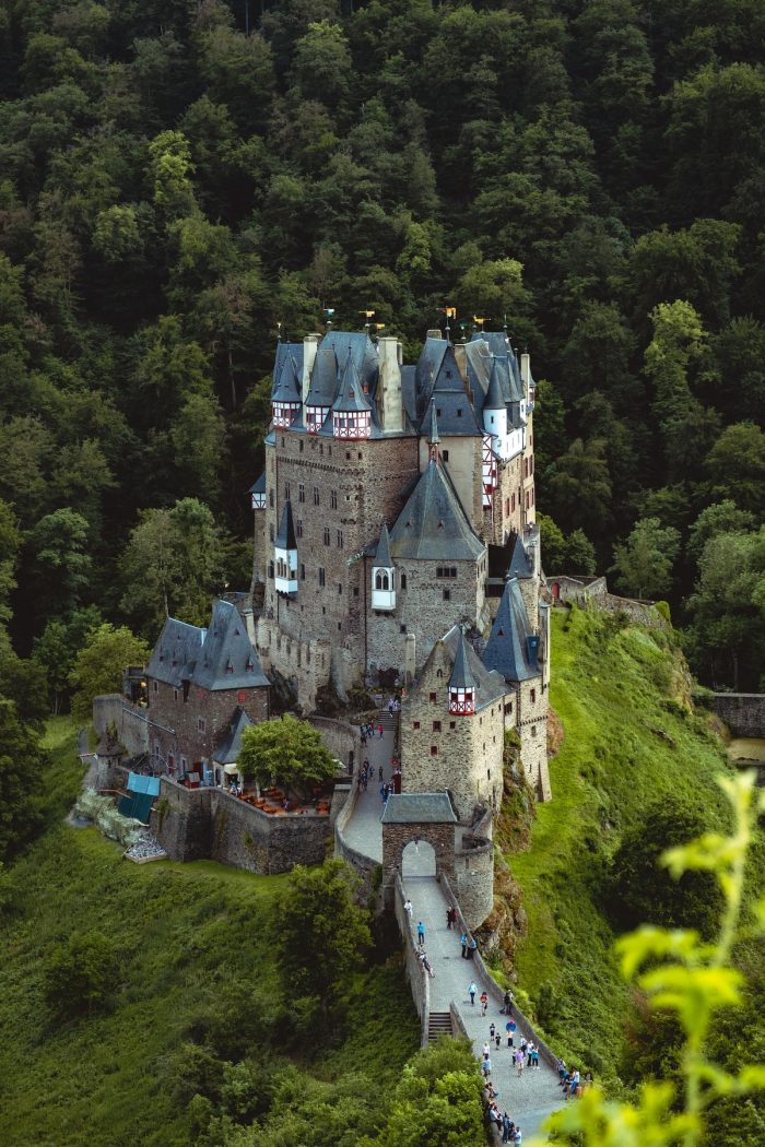 Eltz Castle, Wierscherm, Germany by Sander Lenaerts via Unsplash