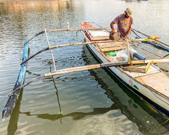 Fisherman in Romblon by Iman Vestido