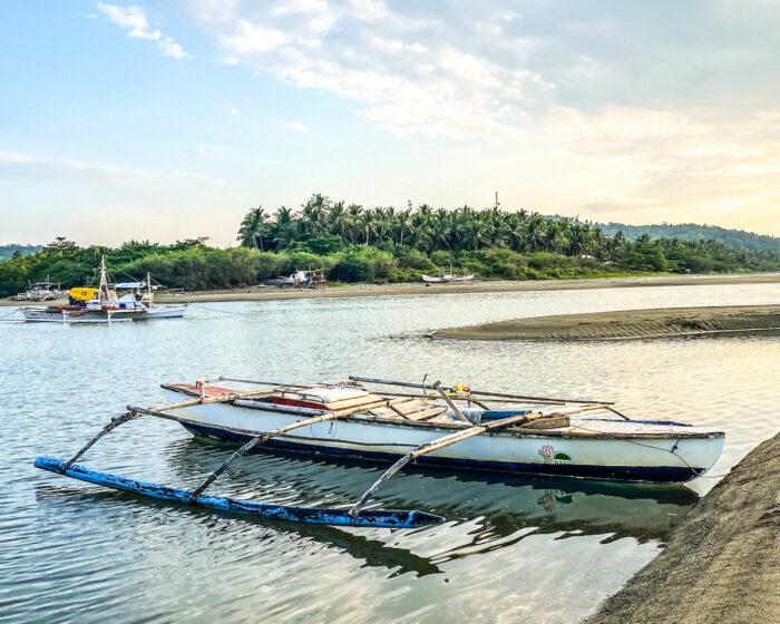 Fishing Boat in Romblon by Iman Vestido