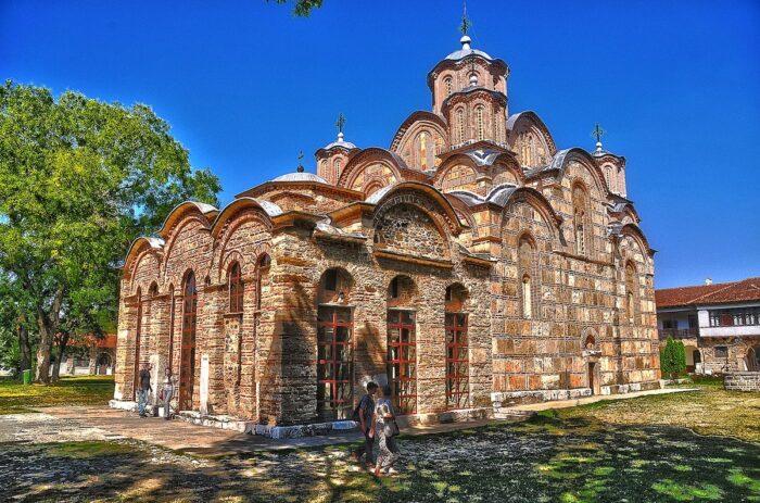 Gracanica Monastery by Sasa Micic via Wikipedia CC