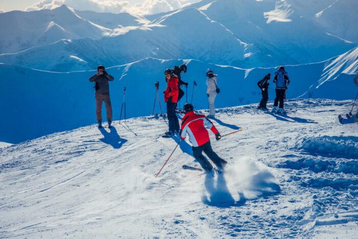 Gudauri Ski Resort in Georgia photo via Depositphotos