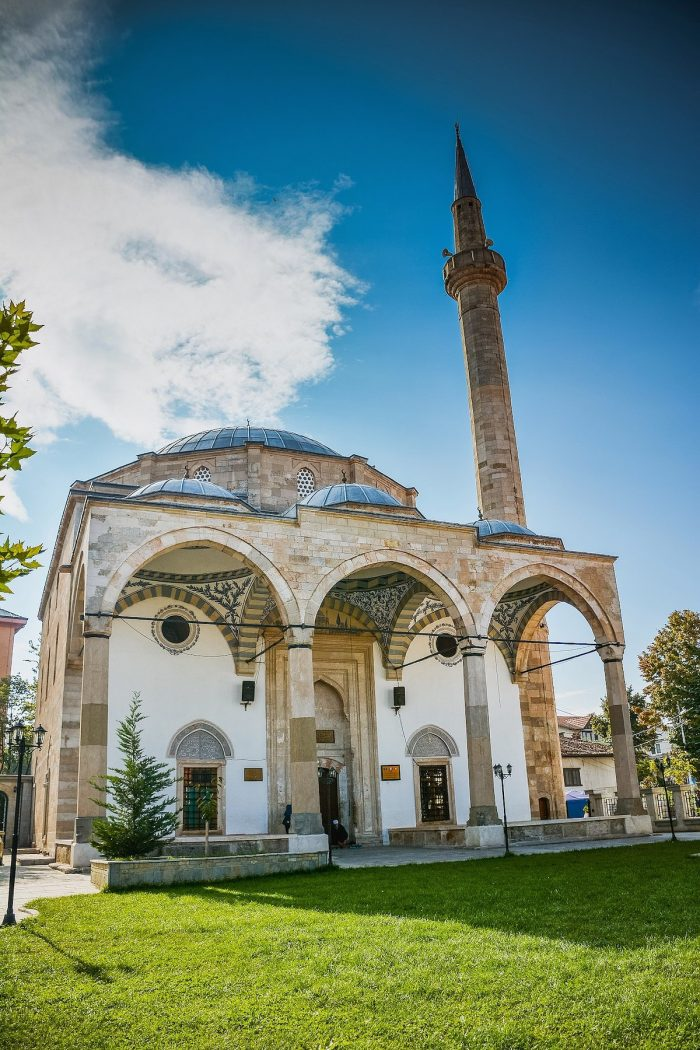 Imperial Mosque of Pristina by Ardianlumi via Wikipedia CC