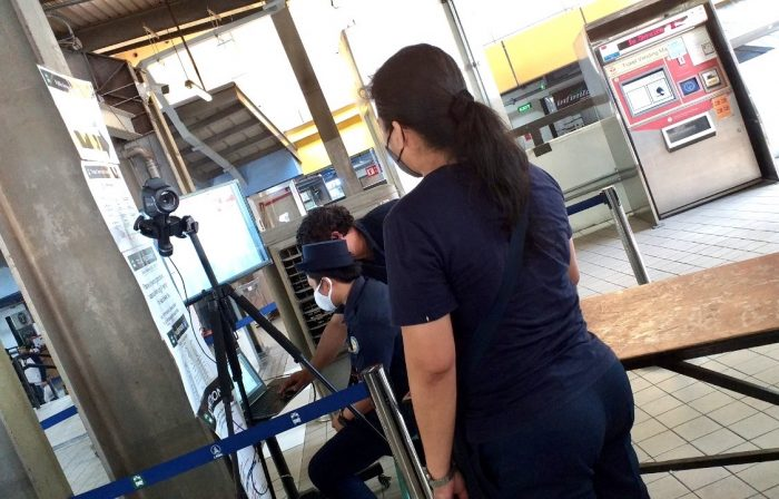 Light Rail Manila Corporation rolls out thermal screening system at LRT-1 stations