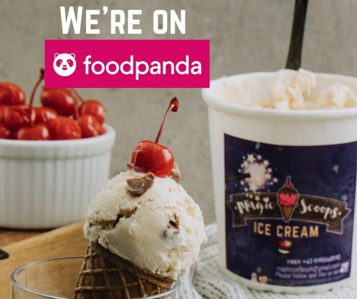 Magic Scoops Ice Cream in on Foodpanda