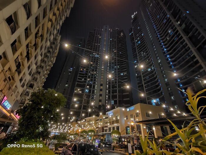 Makati at Night using OPPO Reno5 5G