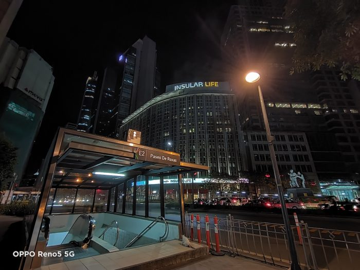 Through the lens of the OPPO Reno5 5G, even brightly lit areas in BGC and Makati CBD look like they've been captured by professional cameras with long shutter speeds.