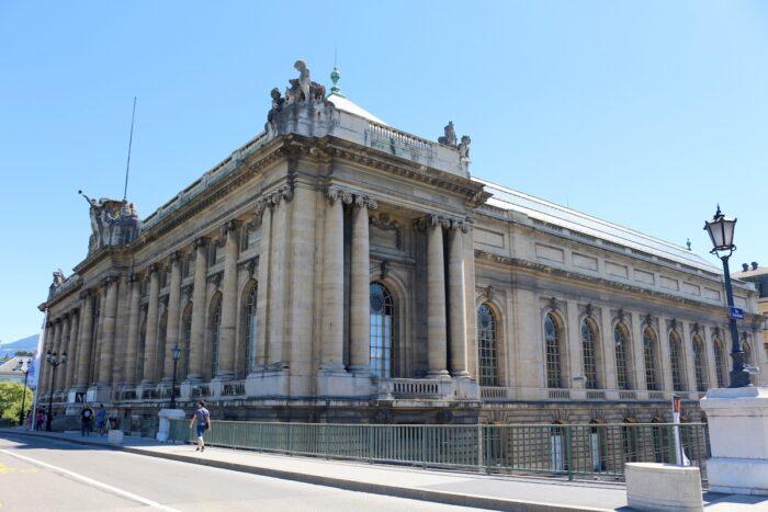 Museum of Art and History in Geneva, Switzerland. photo via Depositphotos
