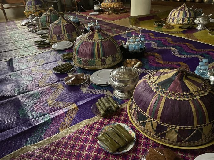 Our banquet prepared by the Kumala Weavers
