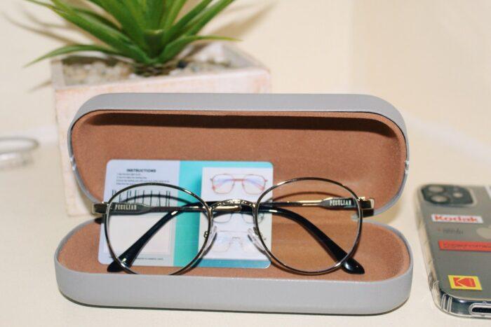 Peculiar Eyeglasses Round Anti Blue Light
