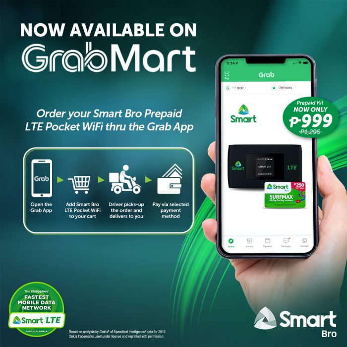 SmartBro x GrabMart