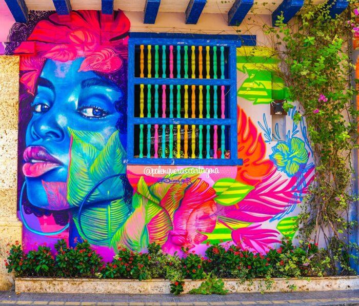 Street Art in Cartagena Colombia by Jorge Gardner via Unsplash
