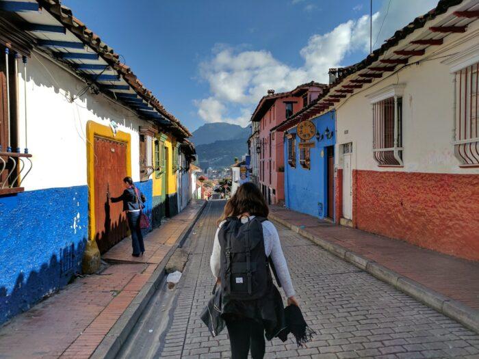 Streets in Bogota Colombia by Michael Baron via unsplash