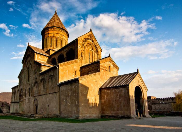 Svetitskhoveli Orthodox Cathedral photo via Depositphotos.com