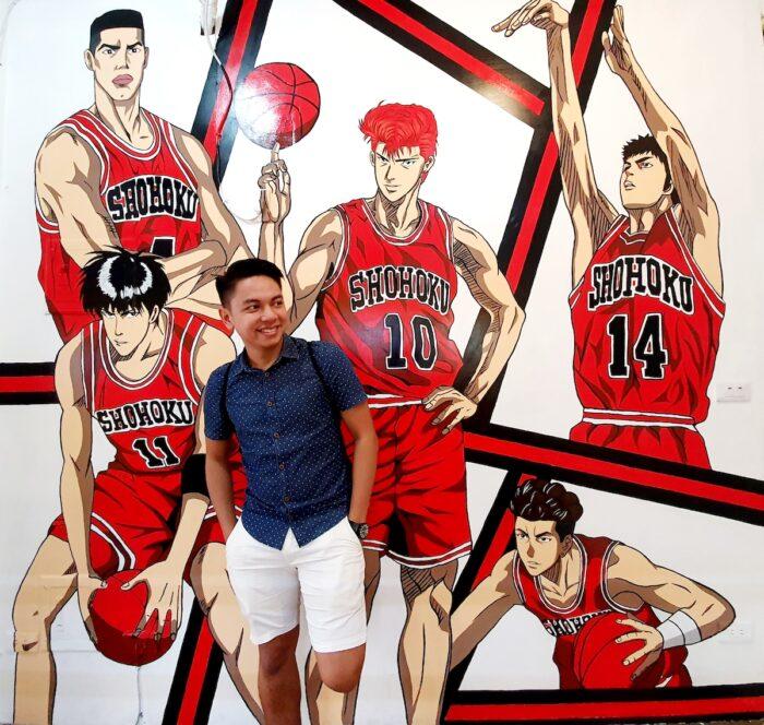 The OG basketball anime_ Slam Dunk