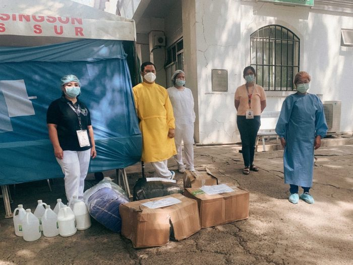 The Tulong Ilocano campaign turns over its PPE and medical supply donations to some hospitals in Ilocos Sur.