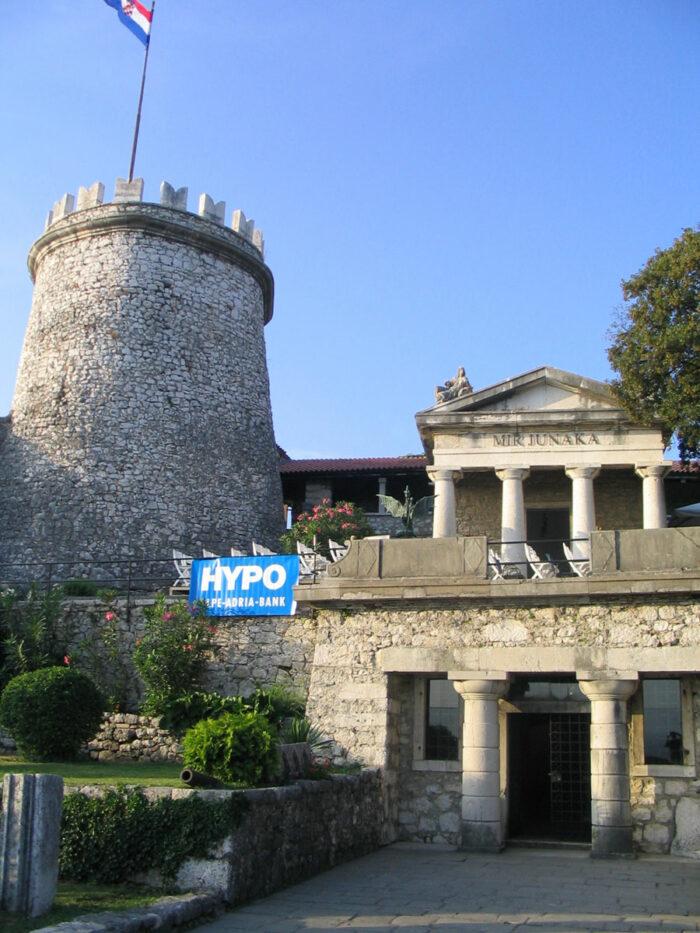 Trsat Castle by Ante Perkovic via Wikipedia CC