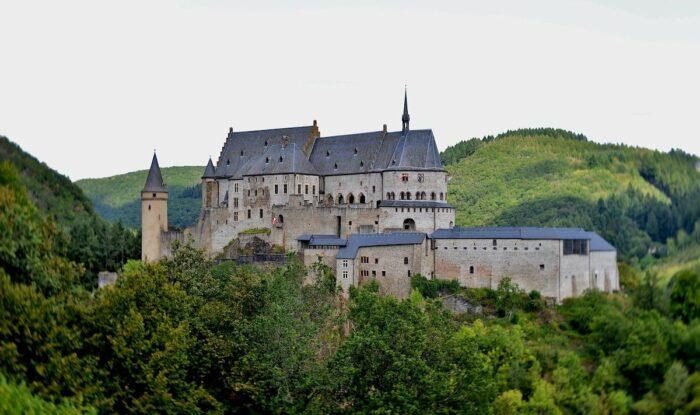 Vianden Castle photo via Pixabay